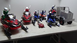 Thanks for 1000 subscribers,my snowmobile collection.