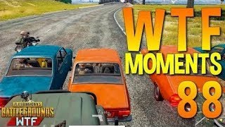 PUBG WTF Funny Moments Highlights Part 88 (playerunknown's battlegrounds Plays)
