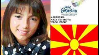 FYR Macedonia JESC 2010: Anja Veterova - Eooo, Eooo