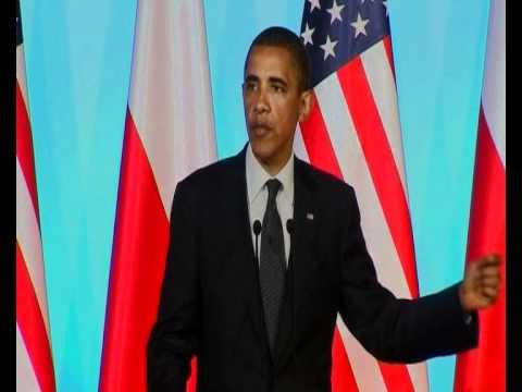 US President Barack Obama and Polish Prime Minister Donald Tusk