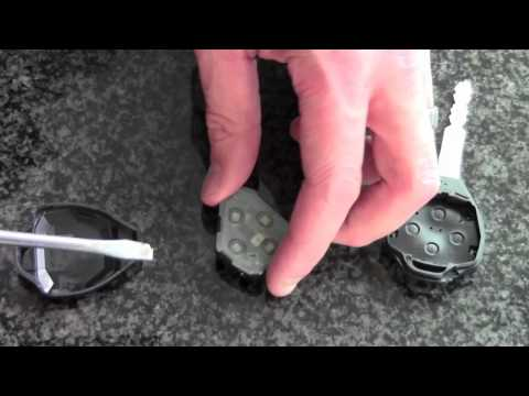 how to change battery in fob transponder key toyota