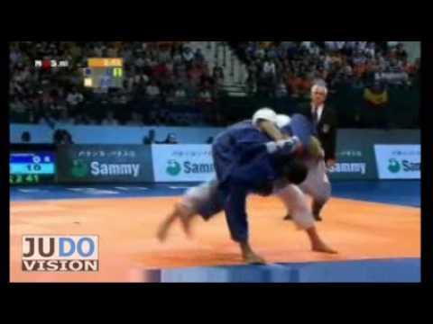 JUDO 2009 World Championships: Ramadan Darwish (EGY) - Henk Grol (NED)