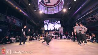 Final Bboying 3vs3 Rytm Ulicy Hellena 2016: Breaknuts vs Oczy Ważki ŁDZ