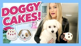 How To Make Puppy Cupcakes | iJustine