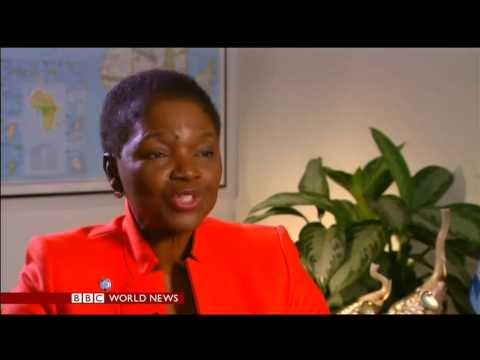 UN Humanitarian Chief Valerie Amos on Syrian humanitarian access (13 February 2014)