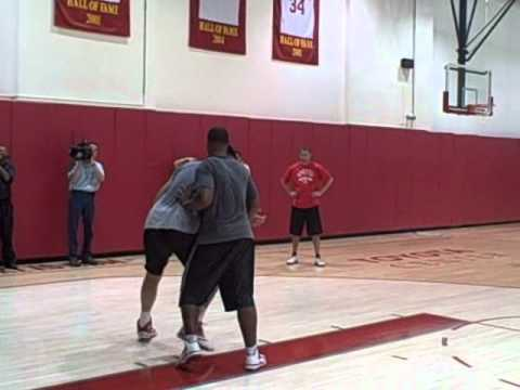 Yao Ming Workout 8/24/2010 - Every Yao Play