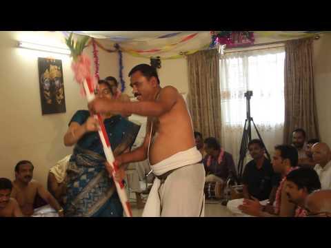 Musala Nardhanam   Mr & Mrs Srinivasan @ Radhakalyanam 2014   Accra Ghana
