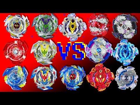 Все беи LONGINUS против VALKYRIE. Невероятная битва в конце с модифицированным Winning Valkyrie