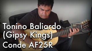 Tonino Baliardo (Gipsy Kings) on a Conde AF25R
