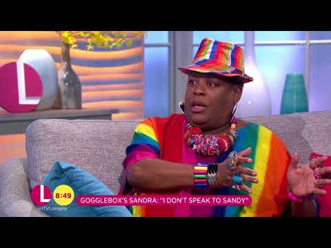 Gogglebox's Sandra Martin is Still Friends With Sandy | Lorraine