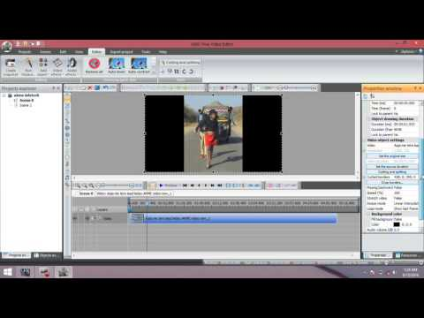 How to Cutting and splitting of videos In VSDC Video Editor 2016