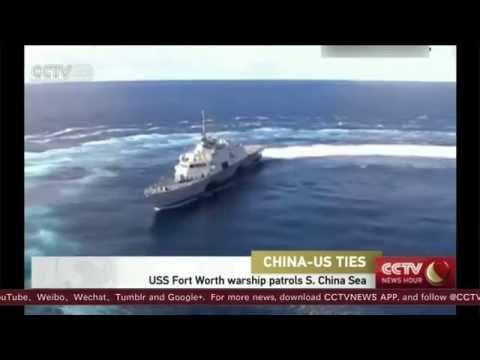 Breaking News May 2015 USA USS Fort Worth warship patrols South China Sea Tensions with China