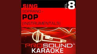 So Emotional Karaoke Instrumental Track In The Style Of Whitney Houston