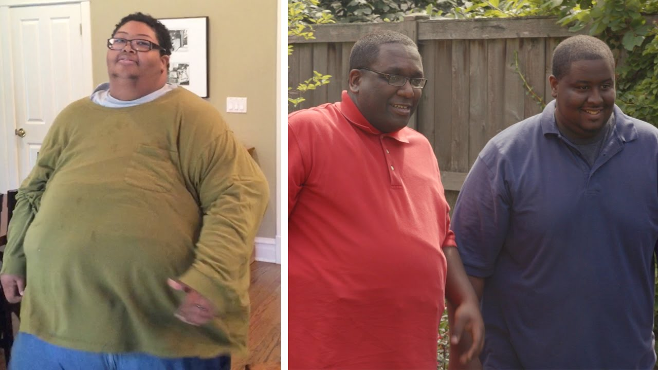 Man Who Weighed 500 Pounds Two Years Ago Now Weighs 250 Pounds Times Two