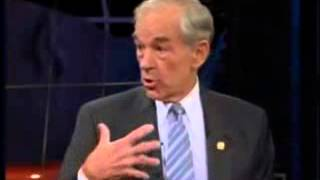 Ron Paul on Bill Maher