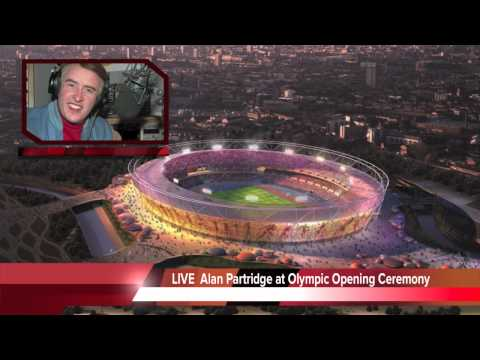 Alan Partridge at the Olympic Opening Ceremony