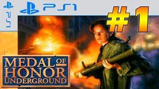 Прохождение игры medal of honor underground
