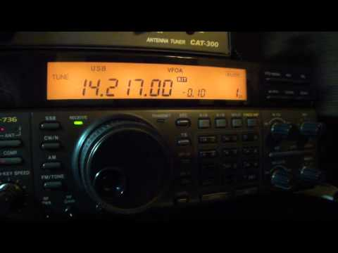 HAM  BU2AU & DG6NBW 14MHZ