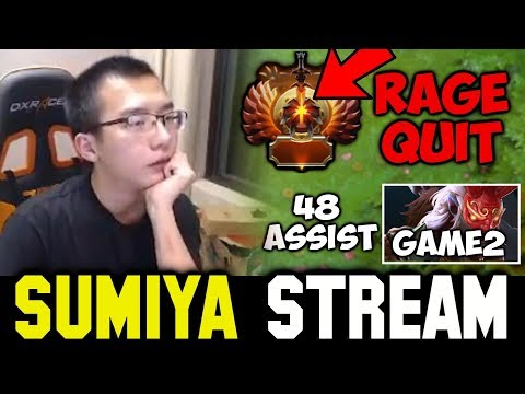 Top Ranked Rage Quit + 48 Assist Crazy Game | Sumiya Invoker Stream Moment #263