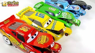 Learning Color Disney Cars Lightning McQueen mack truck big and small Play for kids car toys