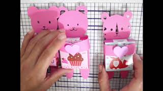 Valentines Day Classroom Treats : Sticker /  Candy Holders