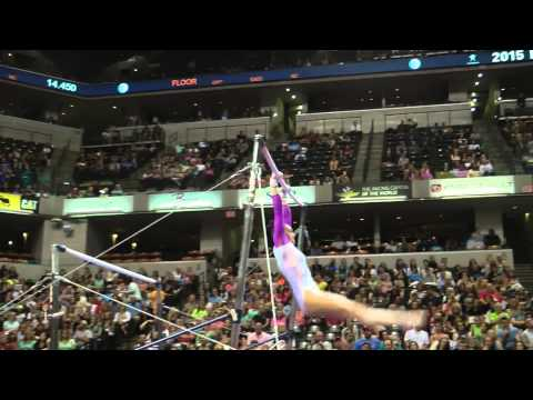 Kyla Ross – Uneven Bars – 2015 P&G Championships – Sr. Women Day 1
