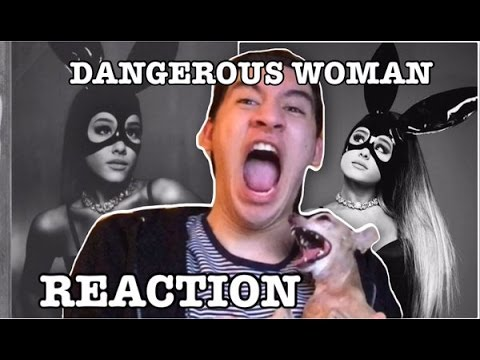 Ariana Grande - Dangerous Woman Album REACTION • Gera Husseim