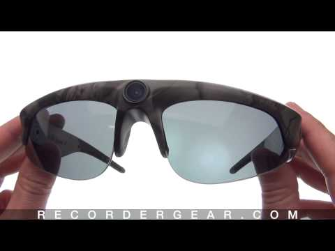 iVUE Camera Glasses HD 720P Video Recording Sunglasses (Product Overview)
