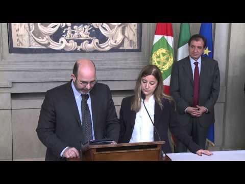 Beppe Grillo da Napolitano. Il MoVimento 5 Stelle al Quirinale, 21 marzo 2013 (Integrale)