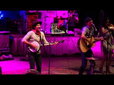Avett Brothers jump In Line (shake, Señora)  Red Rocks, Morrison, Co 07.12.14 video