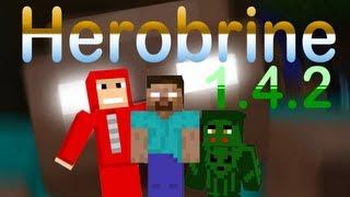 Pasta .Minecraft Com Herobrine Mod 1.4.2 + Download Textura + Map Herobrine's Mansion