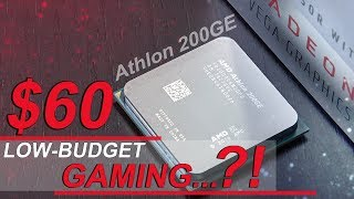 THIS is What This $60 CPU Can DO! -- AMD Athlon 200GE