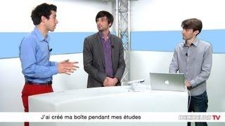Romain Sarels - Pubeco & Maxence Devoghelaere - 3Dduo : comment créer sa boite pendant ses etudes ?