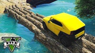 GTA V Online: A TRILHA MORTAL no LAGO PERDIDO! (HARDCORE)
