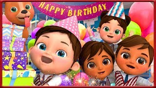 Happy Birthday Song   Kids Party Songs & Nursery Rhymes   Best Birthday Wishes & Songs Collection