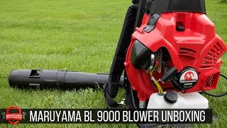 Maruyama BL9000 1,000+ CFM Leaf Blower - Unboxing / First Impressions