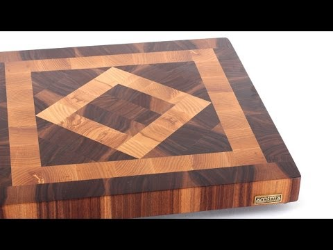 Quot Square In A Square Quot End Grain Cutting Board Youtube