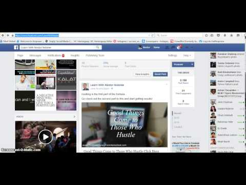 Facebook fan page how to measure clicks and views