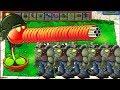 Plants vs Zombies Hack - Gatling Pea vs Gargantuar vs Giga-Gargantuar