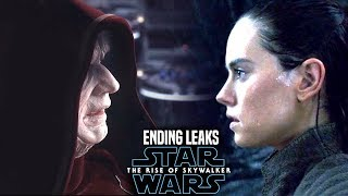 MASSIVE The Rise Of Skywalker Ending Scene Leaks! WARNING (Star Wars Episode 9)