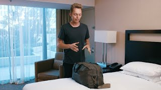 What's in a Minimalist's Travel Bag?