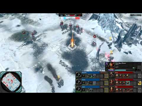 Dawn of War 2: Faction Wars — Season 1 | Grey Knights [vs] Chaos | Game 1