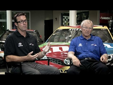 Toyota Masters of the Wheel: Joe and JD Gibbs