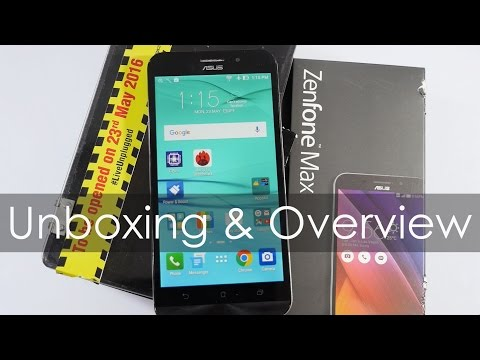New Asus Zenfone Max Unboxing & Overview