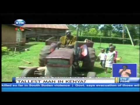 Tallest man in Kenya