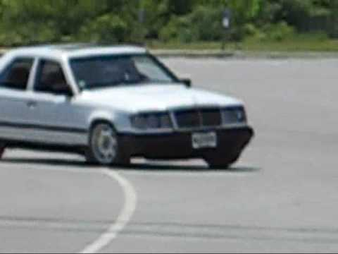 1987 Mercedes Benz 300D autocross