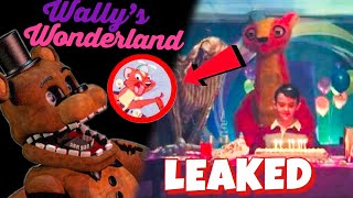 Five Nights Movie Vibes of LEAKED Wally's Wonderland Images