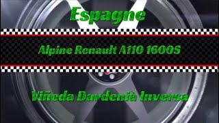 Dirt Rally 2.0 / Espagne / Alpine Renault A110 1600S / Viñeda Dardenià Inversa