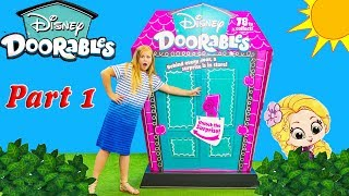 Assistant Discovers Disney Doorables with Tangled Rapunzel and Minnie Mouse Part 1