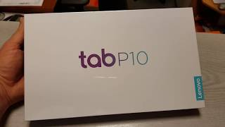 Lenovo TAB P10 LTE unboxing and close look